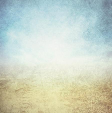 himmel hintergrund: Grunge Hintergrund mit Raum für Text