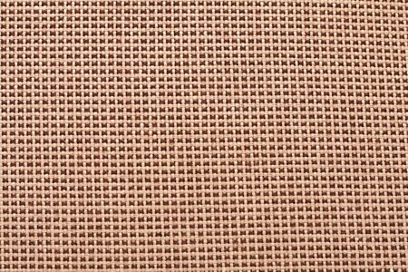texture of natural fabric brown photo