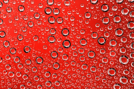 photorealism: Abstract background with drops of water  Stock Photo