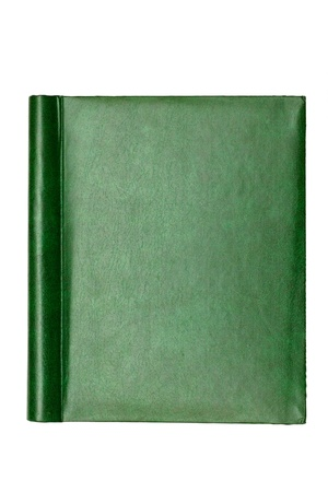 green cover of the book, the texture photo
