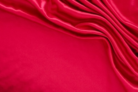 Luxurious deep satin/silk folded fabric, useful for backgrounds Stock Photo - 10965719