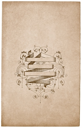 Frame for design use  photo