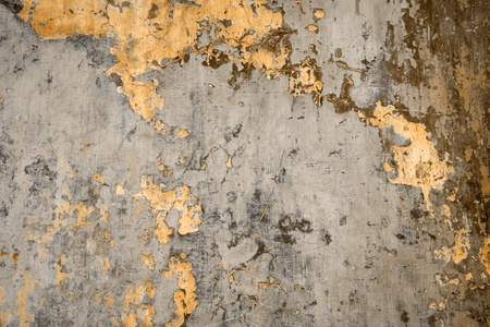 dilapidated wall: texture of a dilapidated wall in a brown tone Stock Photo