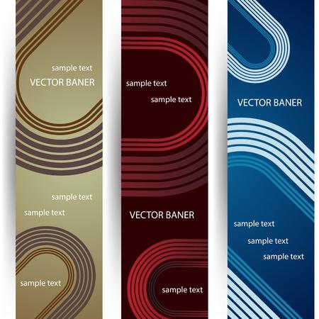 vector verticale banners