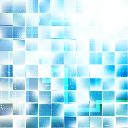 Blue stylish fantasy background Vector