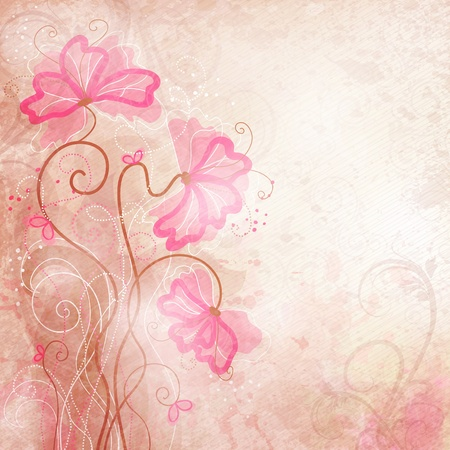 Romantic Background  Ilustrace