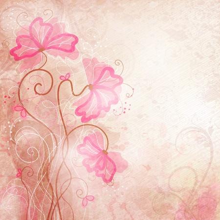 Romantische Hintergrund