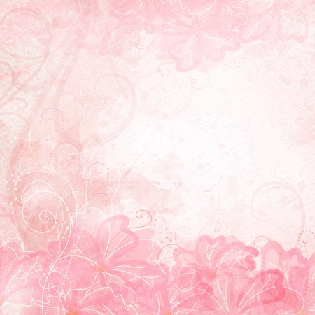 Romantic Background  Illustration