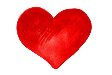 aquarelle: heart