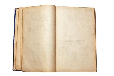oude open boek