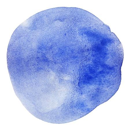 colored spot on white watercolor Stock Photo - 12966504