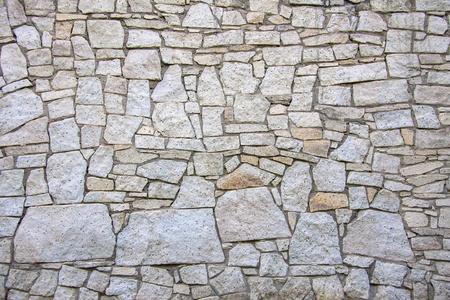 uneven: texture of the stone bridge Stock Photo