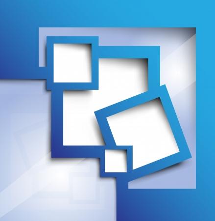 텍스트에 대 한 추상적 인 배경 블루 색상