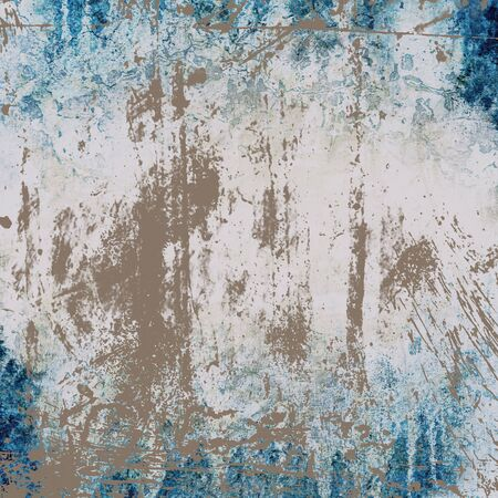texture of the old walls in shades of blue photo