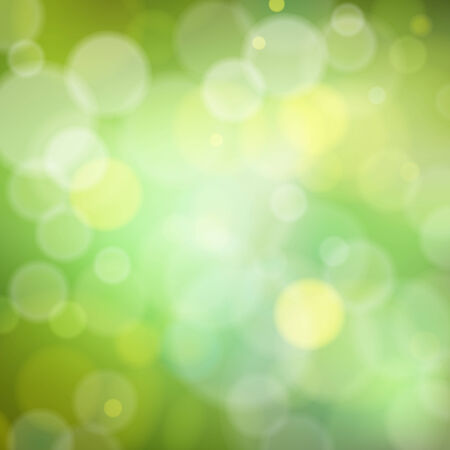 Beautiful spring forest bokeh. Vector background Vector