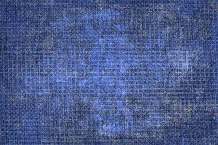textuur van natuurlijke stof blauw