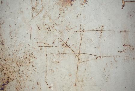 oude grunge roestige zink muur Stockfoto