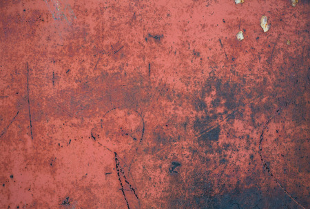 old grunge rusty zinc wall