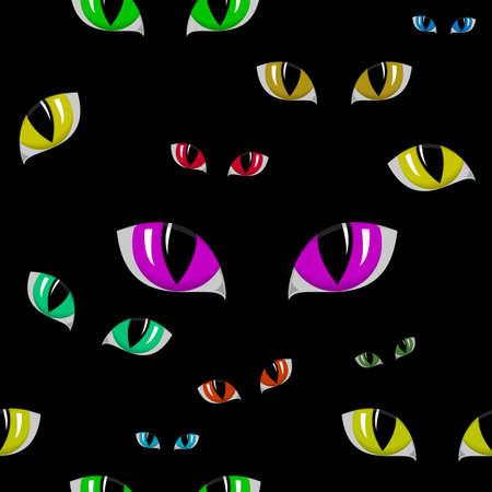 ojo de gato: ilustraci�n de ojo de gato textura perfecta