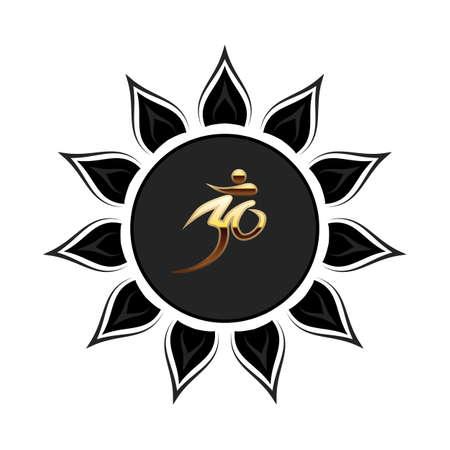 Vector symbol Om