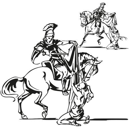 horse warrior: St Martin themes