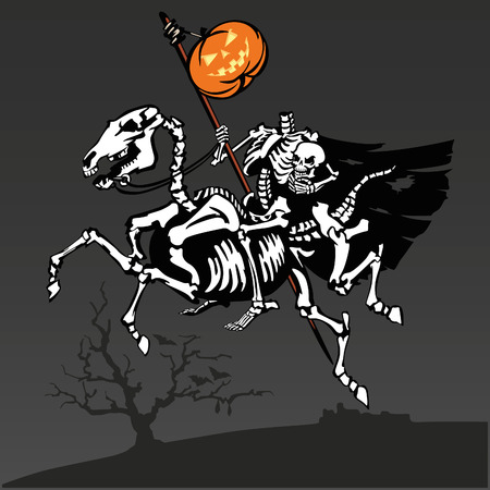Headless rider 1 Illustration