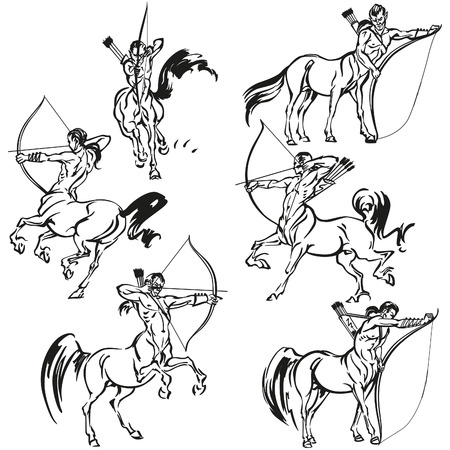 Centaurs Illustration