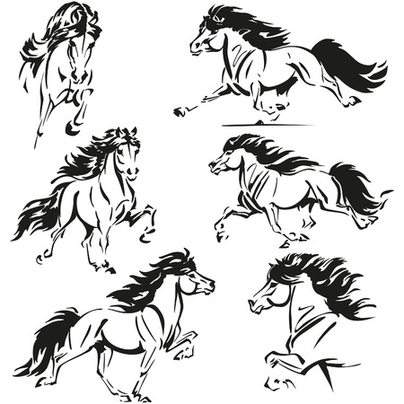 rythme: Th�mes de chevaux islandais