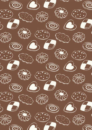 Sweets pattern card