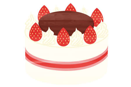 Cake birthday Christmas food icon