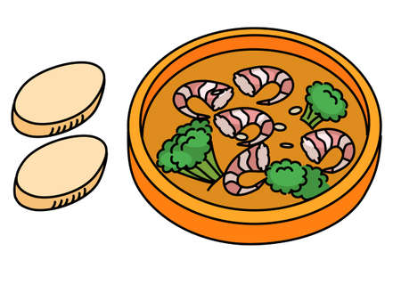 Ajillo, shrimp, tapas, bar, Spanish food