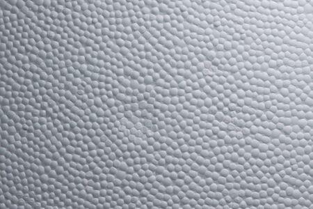 structure of styrofoam plastic
