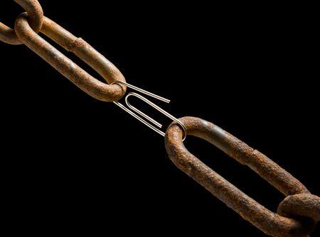 Concetto di collegamento debole o forte