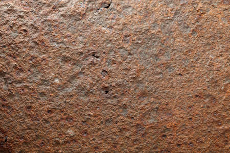 lighten: Macro of harsh lighten corroded iron plate