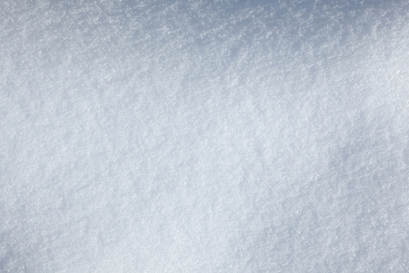 Seasonal background of snow-covered field  Stock Photo