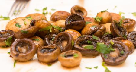 baked: Baked Mushrooms