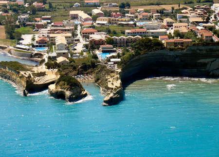 Canal d amour beach in Sidari Corfu