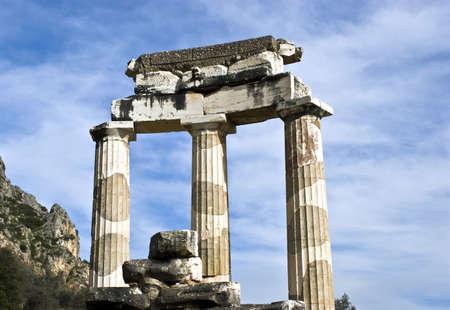 The Tholos Temple, Sanctuary of Athena, Delphi, Greece
