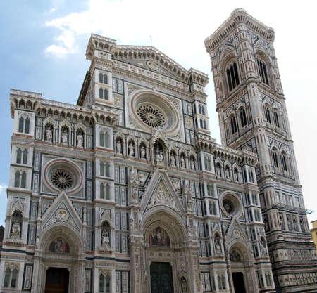 Facade of Santa Maria del Fiore, Duomo, Florence, Italy