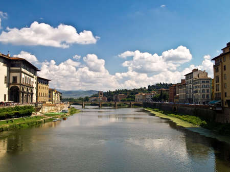 Arno river, Florence, Italy
