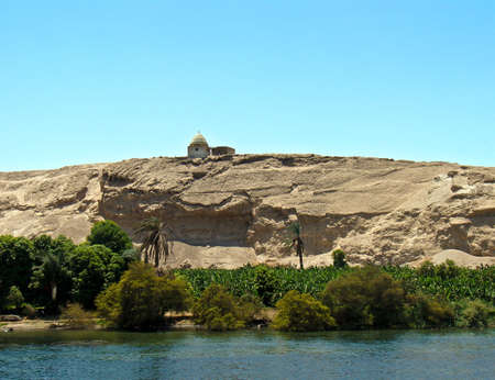 Pigeon house, Nile river, Egypt Stock Photo