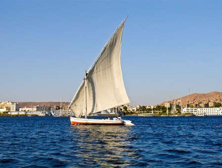Fellukah, Nile, Aswan, Egypt