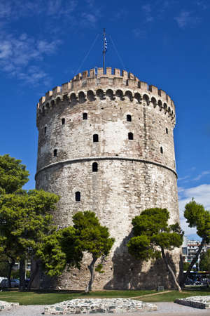 The White Tower at Thessaloniki, Greece
