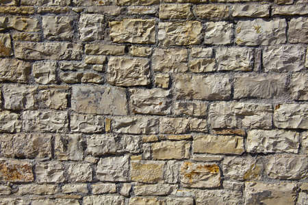 Pattern of stone wall texture as background