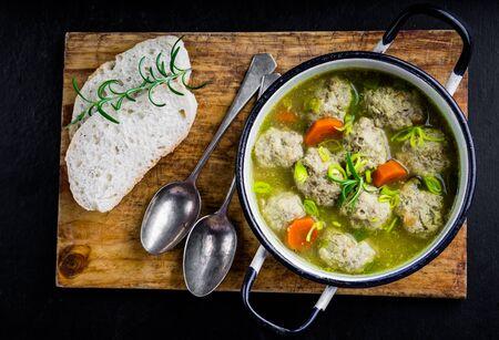 mild: Koftas or meatballs, in a mild creamy curry sauce