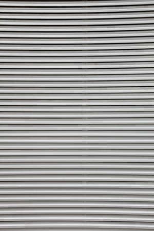 security roller door background - corrugated metal sheet photo
