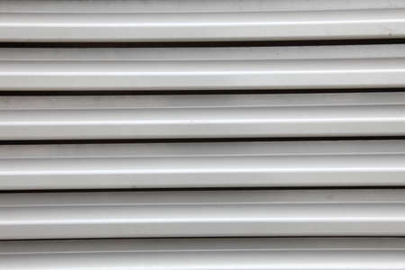 security roller door background - corrugated metal sheet Stock Photo - 10830898