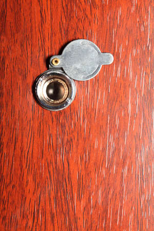 Peephole On Wooden Door - Judas Hole Spyhole Stock Photo Picture And Royalty Free Image. Image 11210297. & Peephole On Wooden Door - Judas Hole Spyhole Stock Photo Picture ...