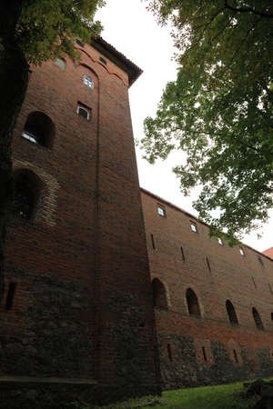 teutonic: Poland old castle Nidzica old teutonic