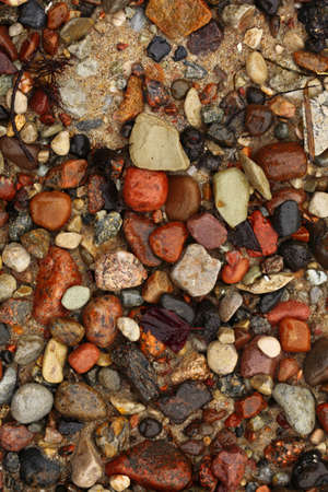 Colourful pebbles sea beach background texture effects Stock Photo - 13382542
